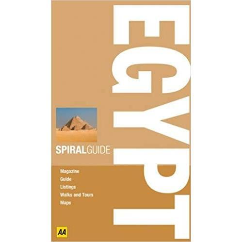 AA SPIRAL GUIDE EGYPT (Travel Guide)