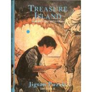 Treasure Island 500 Piece Jigsaw Puzzle Box Book
