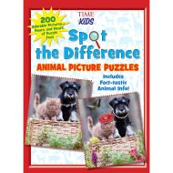 Spot the Difference Animal Picture Puzzles (Activity books)
