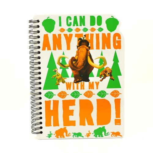 A5 ICE AGE NOTEBOOK
