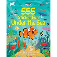 555 STICKER FUN: UNDER THE SEA