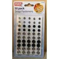 RYSONS - 50 PACK SNAP FASTENERS