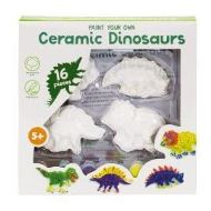 Paint Your Own Ceramic Dinosaur: Set of 4 (Other)