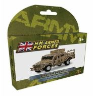 Build Your Own Wind Up Puzzle Husky Truck HM Armed Forces