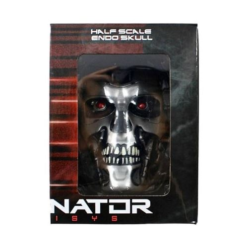 Mini Terminator Endo Skull 1: 2 Scale Collectable Cyber Loot Crate Exclusive