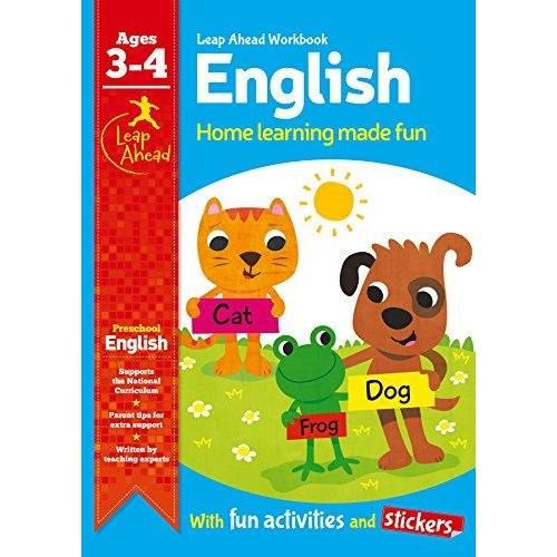 Leap Ahead Workbook: English Age 3-4 (Expert)
