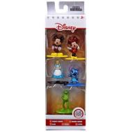 Nano Metalfigs - Mickey Mouse, Minnie Mouse, Alice, Stitch & Kermit Diecast Figure 5-Pack