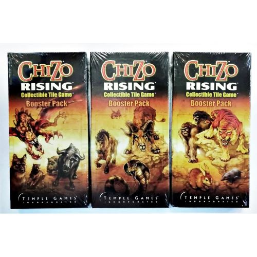 CHIZO RISING BOOSTER PACK WITH 8 TILES AS GAME EXPANSION