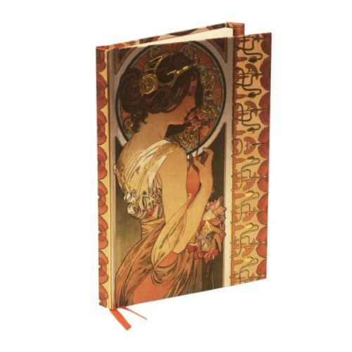 MUCHA COWSLIP (Flame Tree Notebooks)