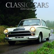 Classic Cars: 2020 Square Wall Calendar