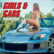 Girls & Cars - Wall Calendar 2020