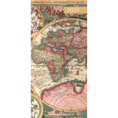 Antique Maps 2020 Pocket Diary