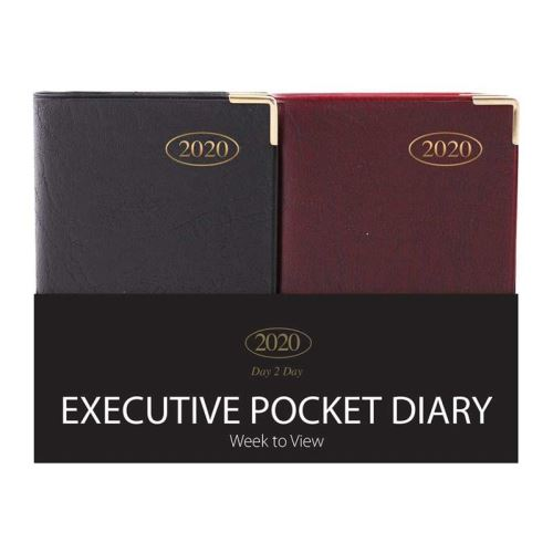 2020 Tallon Pocket Diaries Week to View: with metal corners