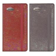 2020 Slim Diary Week to View: Textured Pearlescent