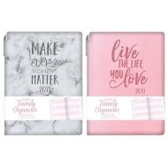 2020 Tallon Family Organiser Typography Design