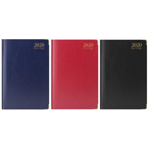 2020 A5 Diary, DAP: Padded with Metal Corners