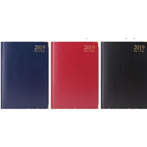 2020 A6 Diary, DAP: Padded, Gilt-Edge