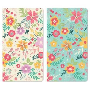 2020 Week to View Pocket Diary - Florals Design