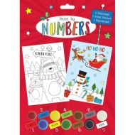 Paint By Numbers Christmas Set