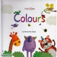 Marzipan Padded Pre School Learning Word Book Colours