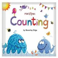 Marzipan Padded Pre School Learning Word Book Counting