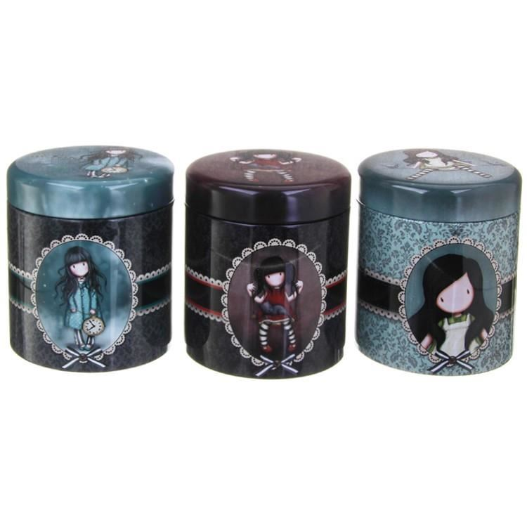 Santoro Set Of Storage Boxes In Gorjuss Design imagine