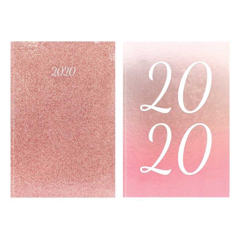 Tallon A5 Diary Ombre & Rose Gold Glitter imagine