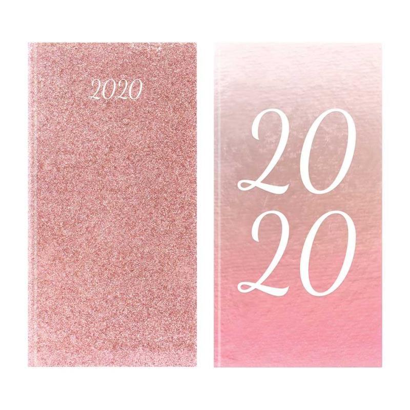Tallon Slim Diary Omre & Rose Gold Glitter imagine