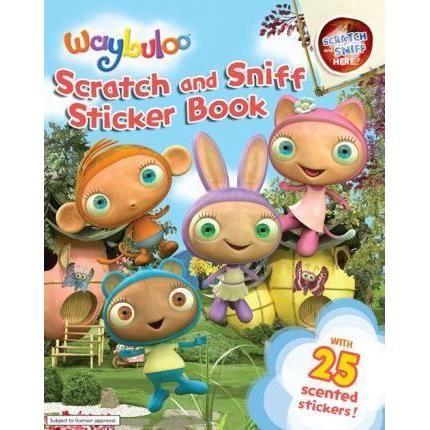 Waybuloo Scratch And Sniff Sticker Book imagine