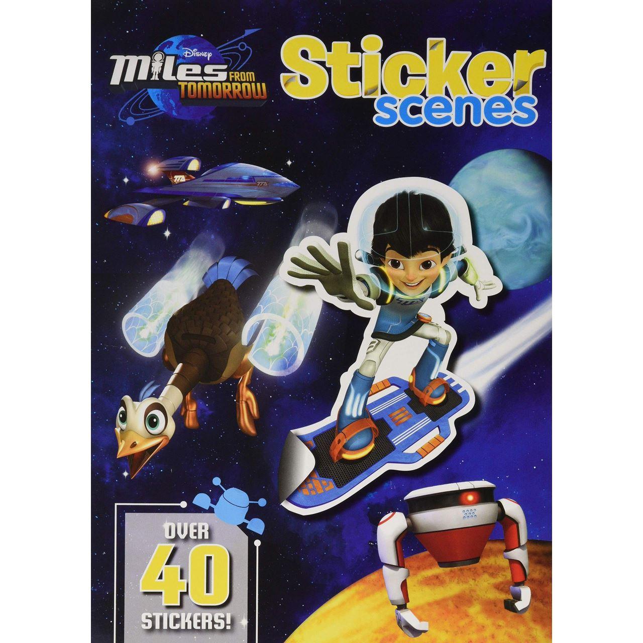 Disney Junior Miles From Tomorrow Sticker Scenes imagine